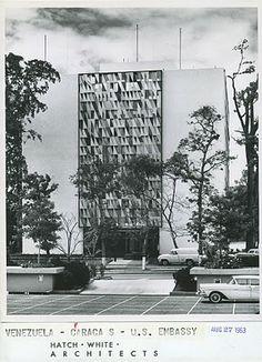 untitled brise-soleil, US Embassy in Caracas, Venezuela, Harry Bertoia, 1959