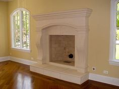 Fireplace Mantel Surrounds | Marble | Cast Stone precast artisan kraft craft