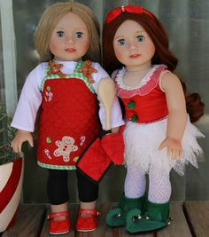This is the place with lots of ideas!  Harmony Club 18 inch Dolls, American Girl Doll Clothes