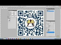 How To Create Your Own QR  - Quick Response Code and Edit It In Photoshop