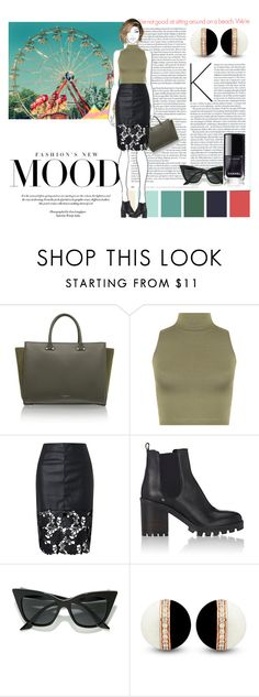 """""""Untitled #583"""" by debysilviaa on Polyvore featuring WearAll, Barneys New York and LULUS"""