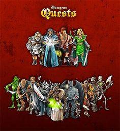 DungeonQuests est basé sur le jeu HeroQuest , jeu de plateau populaire des années 90. Les mécaniques de jeu ont été adaptées au format mobile/tablette afin de toucher la communauté originale, ...