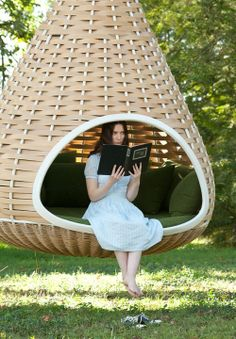 awesome chair for backyard, perfect for reading, or hanging out
