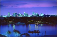 Downtown Fort Lauderdale at night!