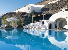 Perivolas, Santorini: Condé Nast Traveler, romantic, romantic hotel, suite, honeymoon suite, honeymoon, wedding, destination wedding, Destination42, romance, romantic wedding, bride, travel, paradise, hotel, resort