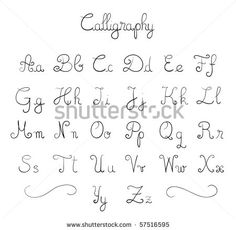 Girly alphabet fonts andlearn how to print fonts examples free fonts