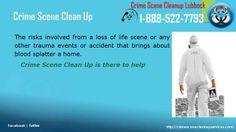 Crime Scene Cleanup Lubbock, Tx | 1-888-522-7793 | Blood,Death,Suicide,T...