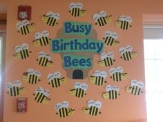 Busy Birthday Bees