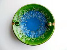 Vintage Ceramic Ashtray by FreewheelFinds on Etsy, $10.00