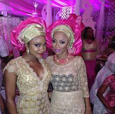 Beautiful Nigerian wedding party