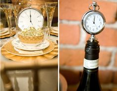 Clock corks New Years