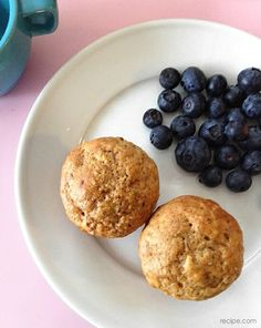 Jump to Recipe I probably bake a batch of muffins once a week. To me, they are an ideal snack since they are so easy to eat and so easy to customize while preparing them. I tend to overbuy bananas so we usually have a few very ripe ones lingering on the counter by the...Read More