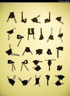 Design Alphabet, Images Alphabet, Alphabet Art, Hidden Alphabet, Alphabet Stencils, Creative Typography, Graphic Design Typography, Lettering Design, Creation Image