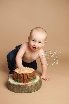 Lumberjack cake Baby-Sawyer