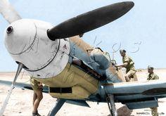 Messerschmitt Bf 109 G-2 Trop --- North Africa  by Markos Danezis