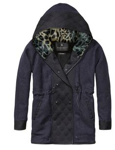 maison scotch - parka coat
