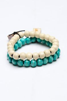 Grain 2 Set Beaded Bracelet