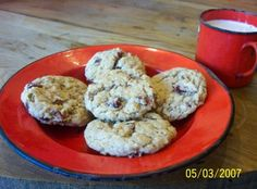 Berry Nutty Oatmeal Cookies Recipe | Just A Pinch Recipes