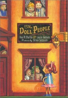"Use with ""anxiety"" group book club-The Doll People by Ann M. Martin and Laura Godwin- one of my favorite books in elementary school."