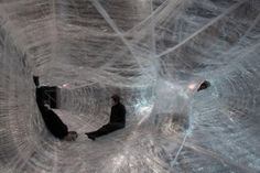 Packing Tape Pavilion - Numen/For Use - Vienna