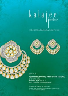 We are coming to #Hyderabad for Hyderabad Jewellery Show starting from June 07 to 09, 2014! Be there :)