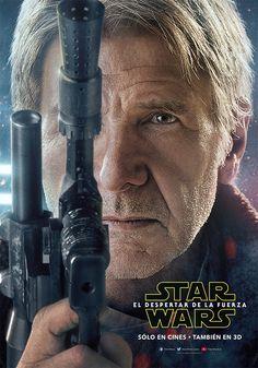 """Nuevos poster de los personajes de """"Star Wars: The Force Awakens"""""""