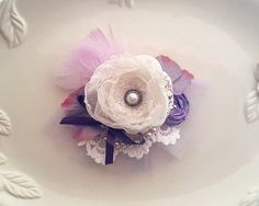 Pretty Tea Party Collection of hairpieces. Perfect for the sweetest little girls!