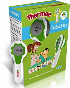 Non Invasive and Non-Contact Forehead thermometer that enables you to take your child's temperature without sticking it to their tongue or bum. The Thermee Thermometer uses the infrared technology that emits the heat from your child's forehead. Baby Monitor, Normal Life, Technology, Easy, Sleep, Change, Group, Children, Simple