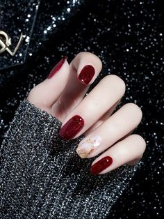 Pin by Dane.house on Nails in 2020 Pretty Nail Colors, Pretty Nail Art, Cute Nail Art, Classy Nails, Stylish Nails, Trendy Nails, Korean Nail Art, Korean Nails, Minimalist Nails