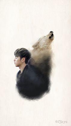 Junhoe ikon wallpaper Kim Hanbin Ikon, Ikon Wallpaper, Hip Hop And R&b, Mark Tuan, Yg Entertainment, K Idols, Beautiful Boys, Fan Art, Icons