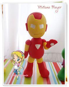 super herois em biscuit - Pesquisa Google