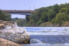 Dallas Wave - Located at the Santa Fe Trail Trestle Bridge. on the Trinity River, Dallas