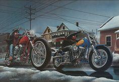 Dave Mann ER Jan 87 Winter Ride 1552 X 1076