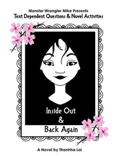 Inside Out And Back Again - Grade 5 - Novel Unit | Teaching ...