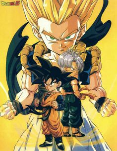 Goten + Trunks = Gotenks #dbz #db #dragonball
