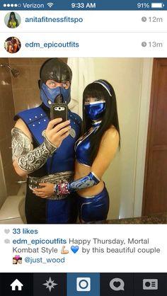 Rave couple!
