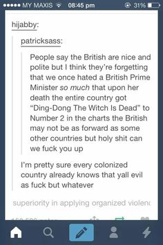 Yeah we Americans are horrible