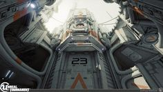 Unreal Tournament Outpost23 by Josh Marlow