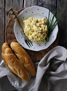 V kuchyni vždy otevřeno ...: Vajíčkový salát Retro (podle ČSN z roku 1976) Retro, Risotto, Ethnic Recipes, Food, Essen, Meals, Retro Illustration, Yemek, Eten