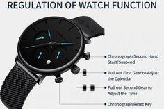 men's watches – High Fashion For Men G Shock Watches Mens, Mens Sport Watches, Fine Watches, Watches For Men Unique, Luxury Watches For Men, Affordable Watches, Waterproof Watch, Luxury Branding, Chronograph