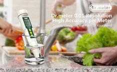 Amazon.com: Dr.meter 0.01 Resolution High Accuracy Pocket Size pH Meter with ATC, 0-14pH Measurement Range: Home Improvement Aquarium Maintenance, Ph Meter, Button Cell, How To Make Beer, Water Quality, Water Treatment, Wine And Beer, Atc