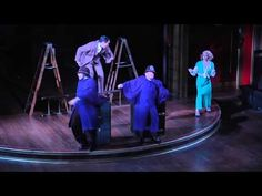 39 STEPS - Drury Lane Theatre - YouTube