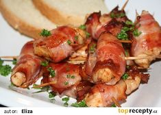 Shrimp, Sausage, Food And Drink, Appetizers, Pizza, Soup, Meat, Recipes, Food Recipes