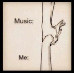 Music ...me. Just in case somebody ask why music is so important to me. Well, because one simple reason; music has always been there for me. It's my dearest friend; what pulls me to continue in a hard life.