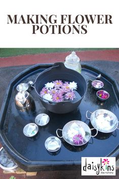 Why not create a flower potion tuff spot activity for the children to make lots of potions. Why not create a flower potion tuff spot activity for the children to make lots of potions. Eyfs Activities, Nursery Activities, Toddler Learning Activities, Spring Activities, Infant Activities, Tuff Tray Ideas Toddlers, Curiosity Approach Eyfs, Tuff Spot, Continuous Provision