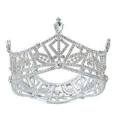 Eseres Silver Plated Rhinestone Tiara for Brides Pageant ... https://www.amazon.com/dp/B07526Q52F/ref=cm_sw_r_pi_dp_x_YLJZzbM80P3JZ