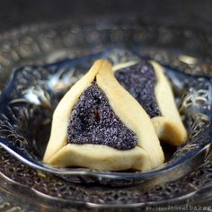 Hamantaschen Cookies with Poppy Seed Filling {Gluten-Free, Vegan, Refined Sugar-Free}