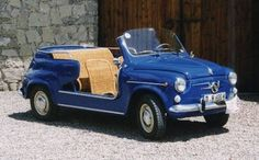Ghia tranformed Fiat 500, 600, and Multipla, in the Jolly version