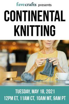 Easy Knitting, Knitting Stitches, Knitting Tutorials, Knitting Ideas, Virtual Class, All Free Crochet, Learn How To Knit, Yarn Sizes, Knitting Magazine
