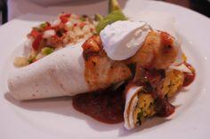 Vegetarian Cheese and Egg Burrito
